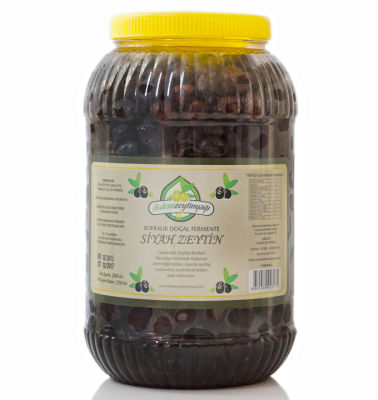 Doğal Fermente Siyah Zeytin Net: 2550 gr.
