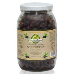 İlkdem - Doğal Fermente Siyah Zeytin Net: 1350 gr.